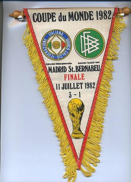 Le mondial 1982 - Coupe du monde de football 1982 ...